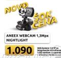 Webcam 1,3Mpx, Aneex, Nightlight