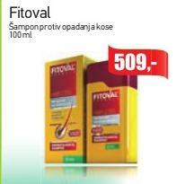 Šampon protiv opadanja kose Fitoval
