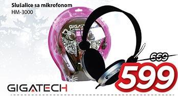 Slušalice Hm-3000