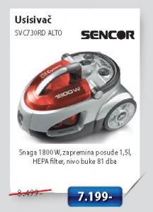 Usisivac SVC730RD ALTO