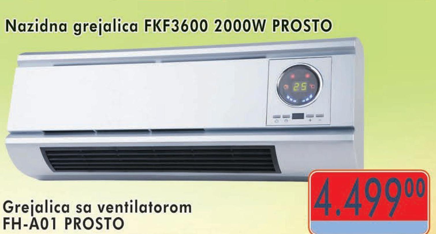 Grejalica FKF 600