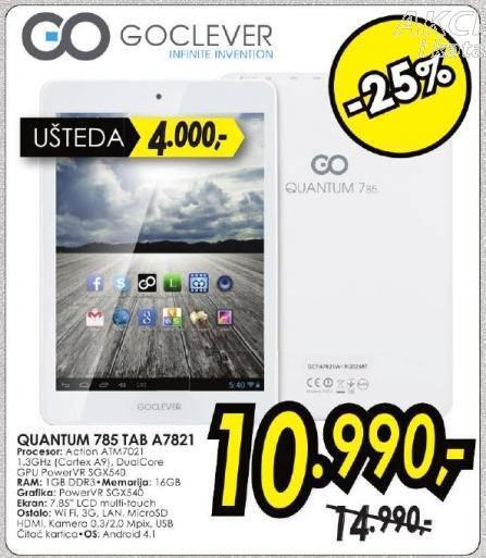 Tablet Quantum 785 Tab A7821