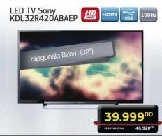 Televizor LED KDL32R420 ABAEP