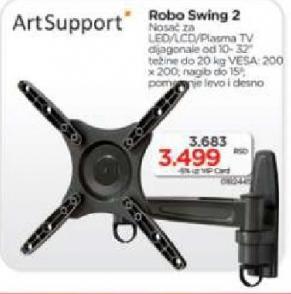 Nosač Robo Swing 2, Art Support