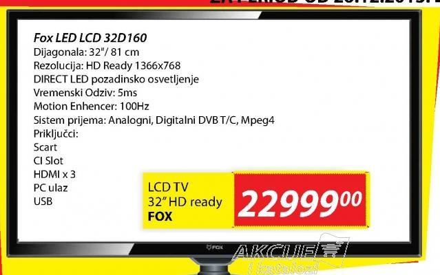 LED Tv 32D160