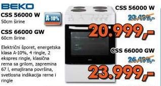 Električni Šporet Css 66000 GW