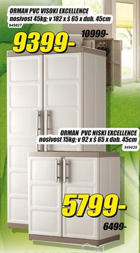Orman PVC Niski Excellence