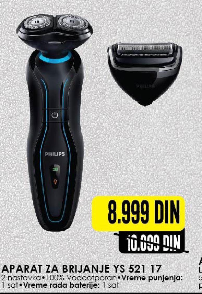 Aparat za brijanje  YS 521 17