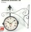 Baštenski dvostrani sat
