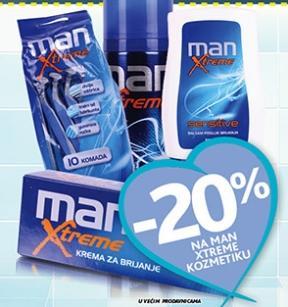 -20% na man extreme kozmetiku