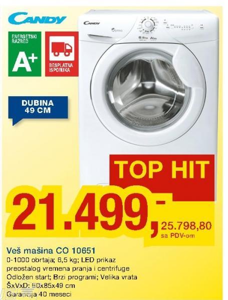Veš Mašina Co 10651