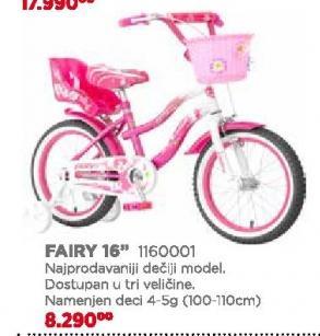 "Biciklo Fairy 16"""