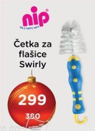 Četka za flašice Swirly Nip