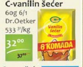 Vanilin šećer