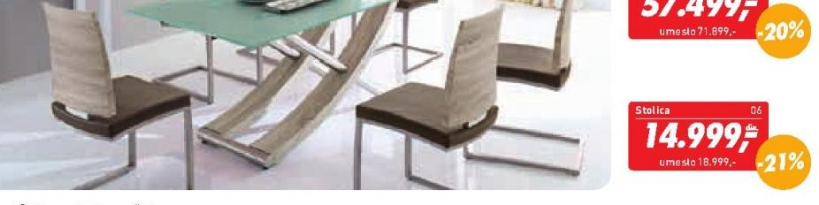"Trpezarijska stolica  ""Barbuda"""