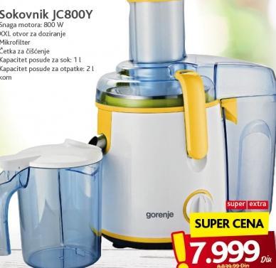Sokovnik Jc800Y