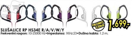 Slušalice Rp Hs34e