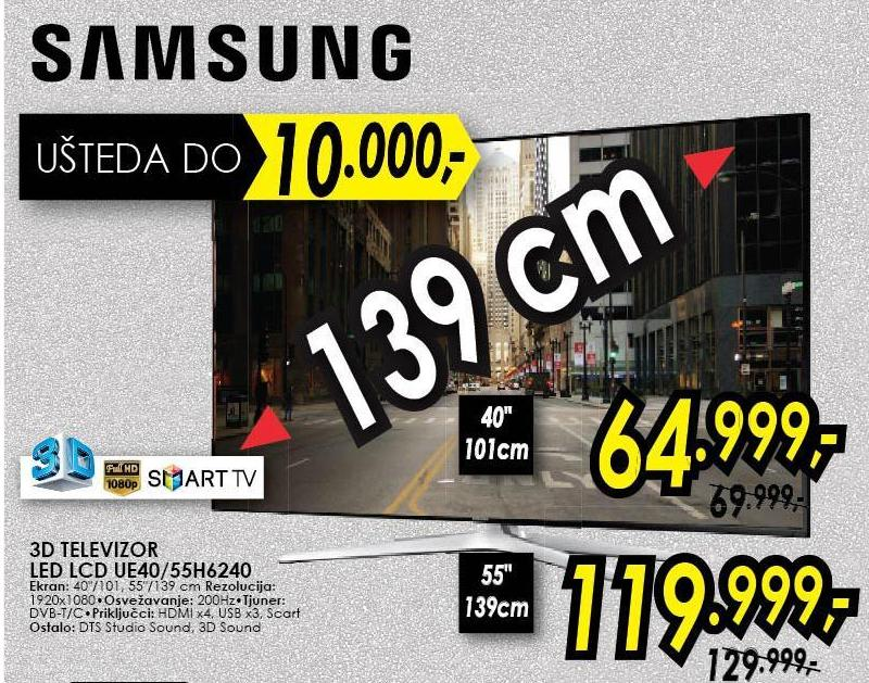 "Televizor 40"" 3D UE40H6240"
