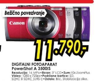 Digitalni fotoaparat PowerShot A 3500IS