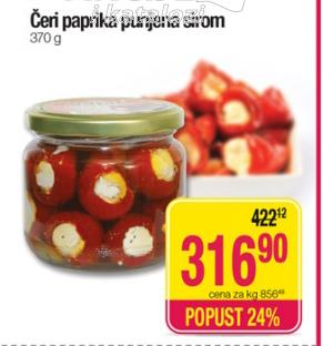 Paprika cherry sa sirom