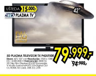 3D televizor plazma TX-P42UT50E
