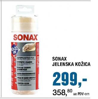Jelenska kožica Sonax