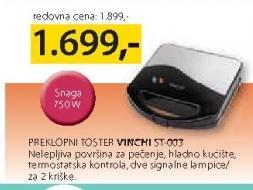 Preklopni toster Vinchi ST-003