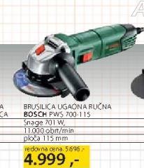 Ugaona Brusilica Pws 700 115
