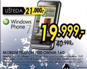 Telefon I900  OMNIA 16G
