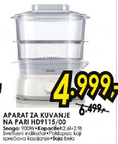Aparat za kuvanje na pari HD9115/00
