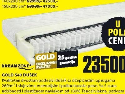 Dušek, Gold S40
