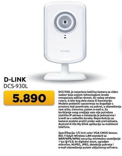 Bežična kamera Dcs-930l D-Link