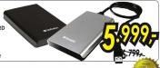 Eksterni Hard Disk 500GB, Verbatim