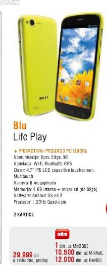 Mobilni telefon Blu Life Play
