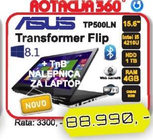 Laptop Transformer Book Flip TP500LN