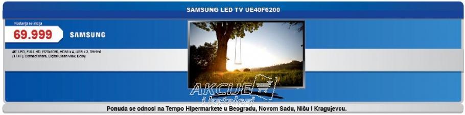 "Televizor LED 40"" Ue40F6200"