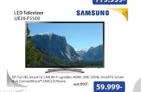 Televizor LED UE39-F5500