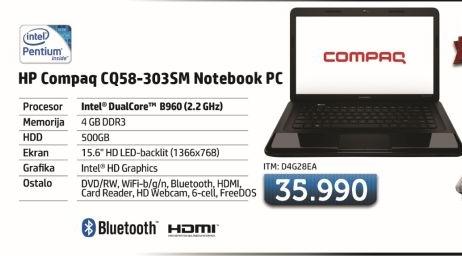 Laptop CQ58-303sm