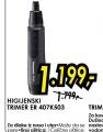 Higijenski trimer ER 407K503