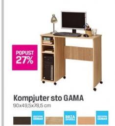 Kompjuter sto GAMA