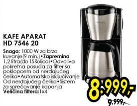 Aparat za kafu Hd 7546/20