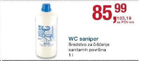 Sredstvo za čiscenje sanitarija Saniper