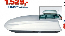 Krovni kofer 430l