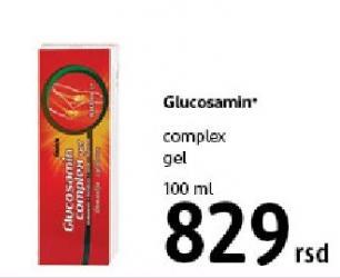 Complex gel Glucosamin