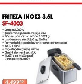 Friteza  SF-4003