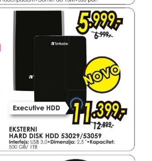 "Hard disk 53029 2,5"" 500GB"