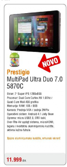 Tablet MultiPad 7.0 Ultra Duo (5870C)