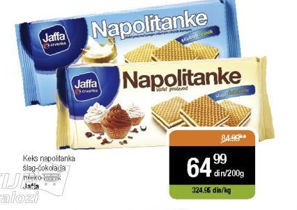 Napolitanke mleko i lešnik