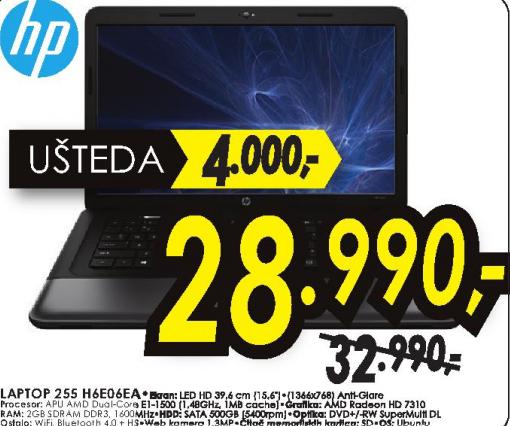 Laptop 255 H6E06EA 4GB