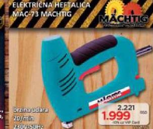 Električna heftalica MAC-608